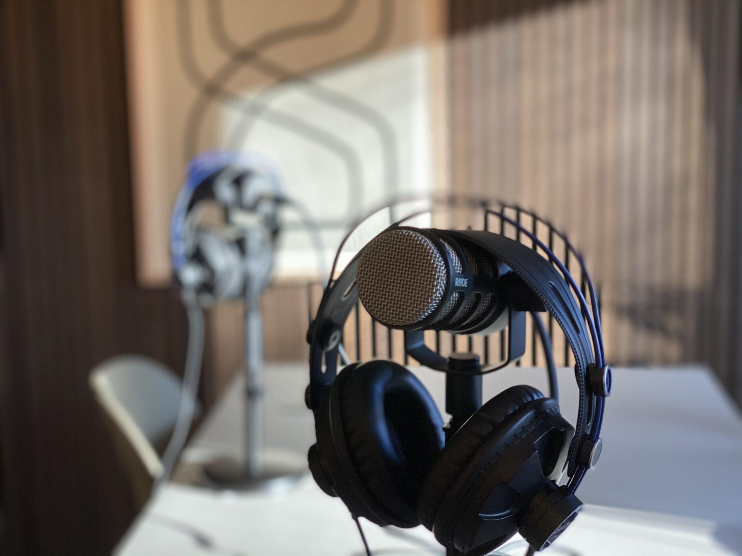 Mikrofon til podcast